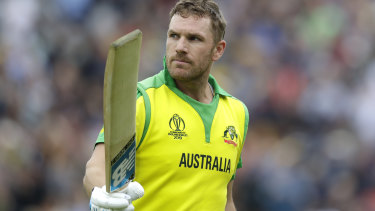 Aaron Finch is still disappointed at Australia's failure to win the World Cup.