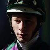 Trainer Kody Nestor during his riding days.
