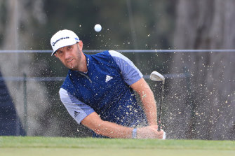 World No.1 Dustin Johnson hasn't played since finishing in a tie for sixth at last month's US Open.