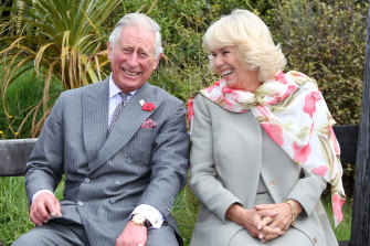 The Prince and Camilla on tour in New Zealand in 2015.