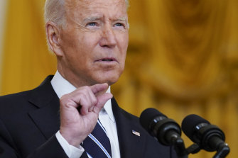 Only a month ago, President Joe Biden announced plans for booster shots for everyone over the age of 16.