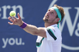 Tennys Sandgren has tested positive for COVID-19 twice.