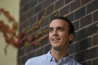 Patrick Walker got an ATAR of 99.95 in 2011 and is training to be a paediatrician.