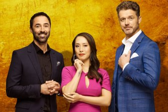 Andy Allen, Melissa Leong and Jock Zonfrillo are the new judges on Network Ten's MasterChef.