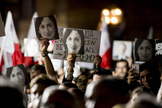 Protesters took to the streets of Valletta on the weekend calling for the Prime Minster to resign.