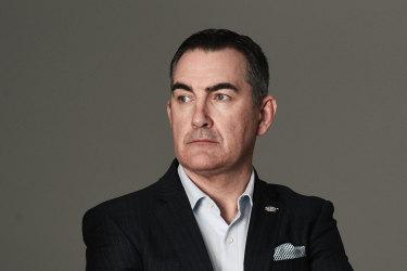 Virgin boss Paul Scurrah.