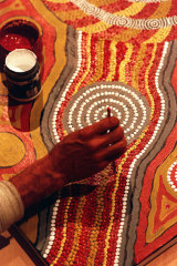 The Australian scheme was intended to improve the circumstances of impoverished Aboriginal artists.