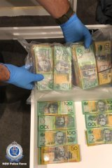 During the March 2019 raid, police seized $360,000 in cash.