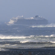 'Dishes all over the place': Helicopters called in for dramatic cruise ship rescue