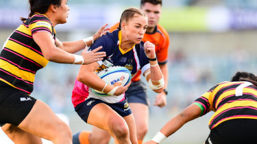 The Brumbies women's team plays their Super W matches at Canberra Stadium.