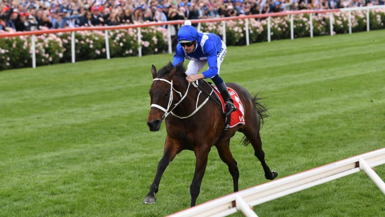Wonder mare Winx once again stole the show.