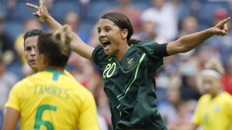 Could Sam Kerr and the Matildas bring World Cup games to Canberra?