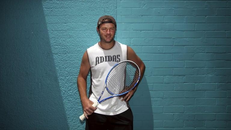 Todd Reid at Matraville Sports Centre in Sydney in 2011.