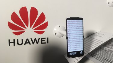 Huawei has put pressure on the supporters of a think tank that has raised questions about it as a cyber-security risk.