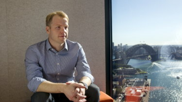 Lachlan Heussler is the Australian managing director of Spotcap.