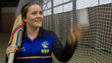 Matilda Lugg has signed a one-year contract with the ACT Meteors.