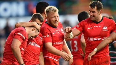 Saracens are at risk of relegation after being docked 35 competition points.