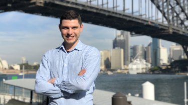 Luka Olic, 24, who works in sales and business development for Deloitte, is among Generation Z, which is more ambitions than the Millennials to buy their own home and have a family.