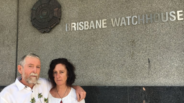 Jim Dowling and wife Anne Rampa have become the first people in Queensland charged with protesting at an abortion clinic.