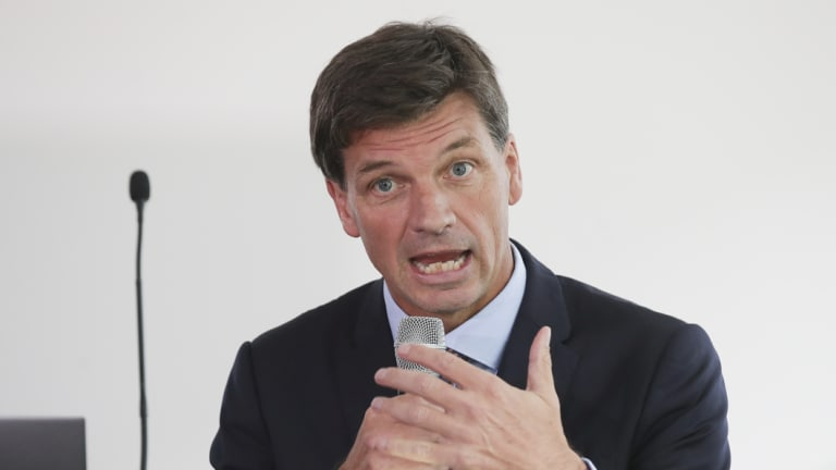 Cyber Security Minister Angus Taylor.