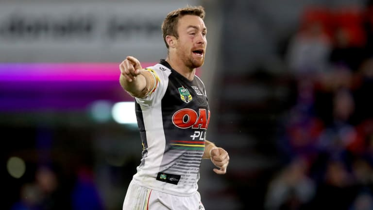 Stepping up: James Maloney has delivered for the Panthers since his arrival.