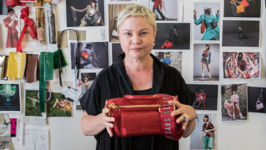 Cathryn Wills quit her job at Mimco to start Sans Beast.