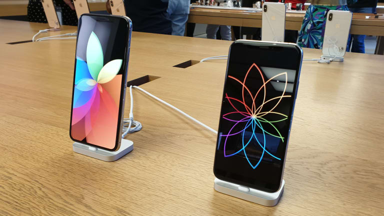 Apple's 2018 phones all include an eSIM, alongside a slot for a traditional card.