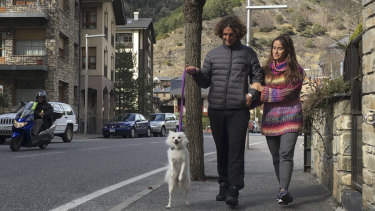 Marco Trungelliti and his wife Nadir.