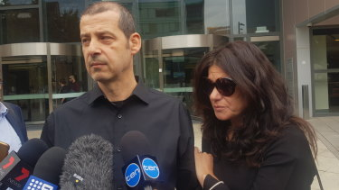 Gaven and Sunay Biber said they were relieved after learning their son would be eligible for parole next May.