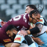 Sharks thump undermanned Sea Eagles as key quartet finally clicks