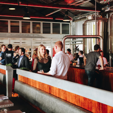 Felons Brewing Co has become a social destination for Brisbane.
