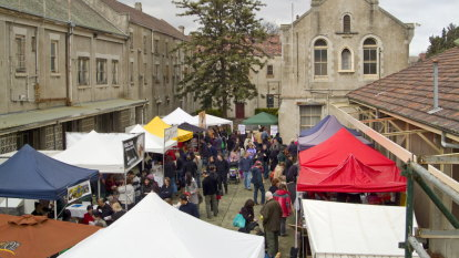 Food fight between rival farmers markets at Abbotsford Convent