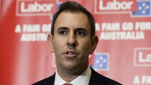 Labor finance spokesman Jim Chalmers.