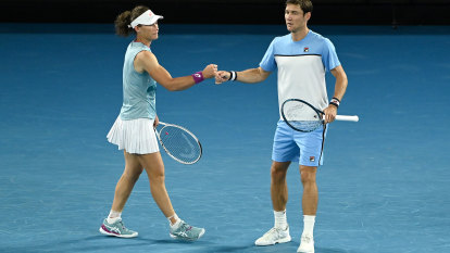 Stosur and Ebden fall to 'flawless' Ram/Krejcikova partnership in mixed doubles final