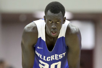 Australian Makur Maker could enter the 2020 NBA draft, but has not made a final decision yet.