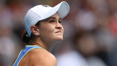 Ashleigh Barty's run to the Australian Open finals is fraught with challenges.