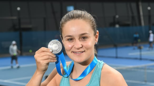 Barty eyes top 10 after milestone season