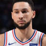 Ben Simmons is little more than a public punchline in Philadelphia