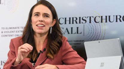 Ardern tells world leaders: study social media algorithms to fight hate