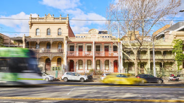 Salisbury Place at 34-36 Nicholson Street Fitzroy is back on the market.