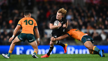 Damian McKenzie and the All Blacks are on fire.