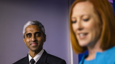 Vivek Murthy, US Surgeon General, has warned about COVID-19 misinformation.