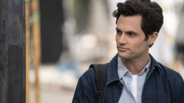 Is he adorable or creepy? Is he handsome or heinous? Penn Badgley returns as Joe in You.