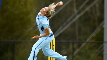 NSW Breakers all-rounder Ellyse Perry.