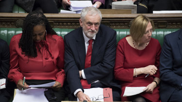 "Labour leader Jeremy Corbyn called the government a ""zombie"" administration."