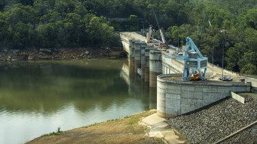 Warragamba Dam, the main source of Sydney's drinking water supply.