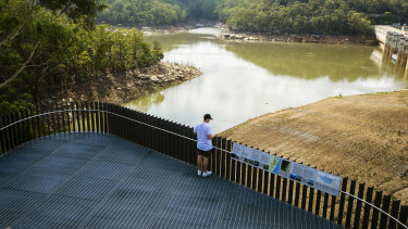 Warragamba Dam is now more than 82 per cent full after recent heavy rains.