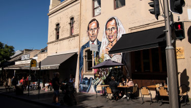 The transformation of inner city Redfern has brought a wave of new apartments and hip cafes.