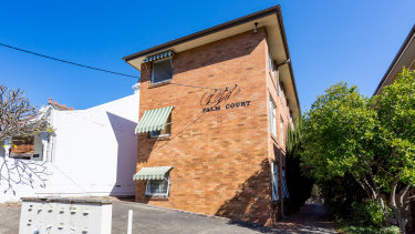 An apartment block at 20 Alexandra Road in Glebe was part of a sale of four sitesacross Sydney.