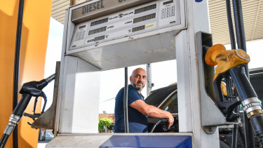 Co-founder Sabby Soodan says the price of filling his car can fluctuate $20 to $30 each week.